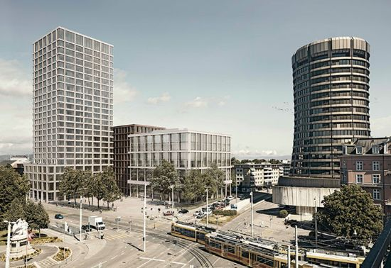 The construction of Baloise's new Head Office in Basel is set for completion by 2020.