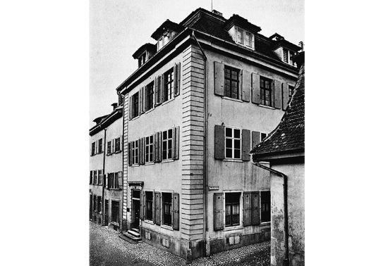 The first Baloise Head Office is located at Nadelberg 20 in Basel.