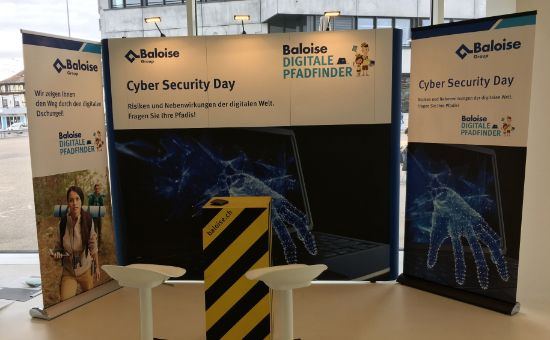 Cyber Security Messestand