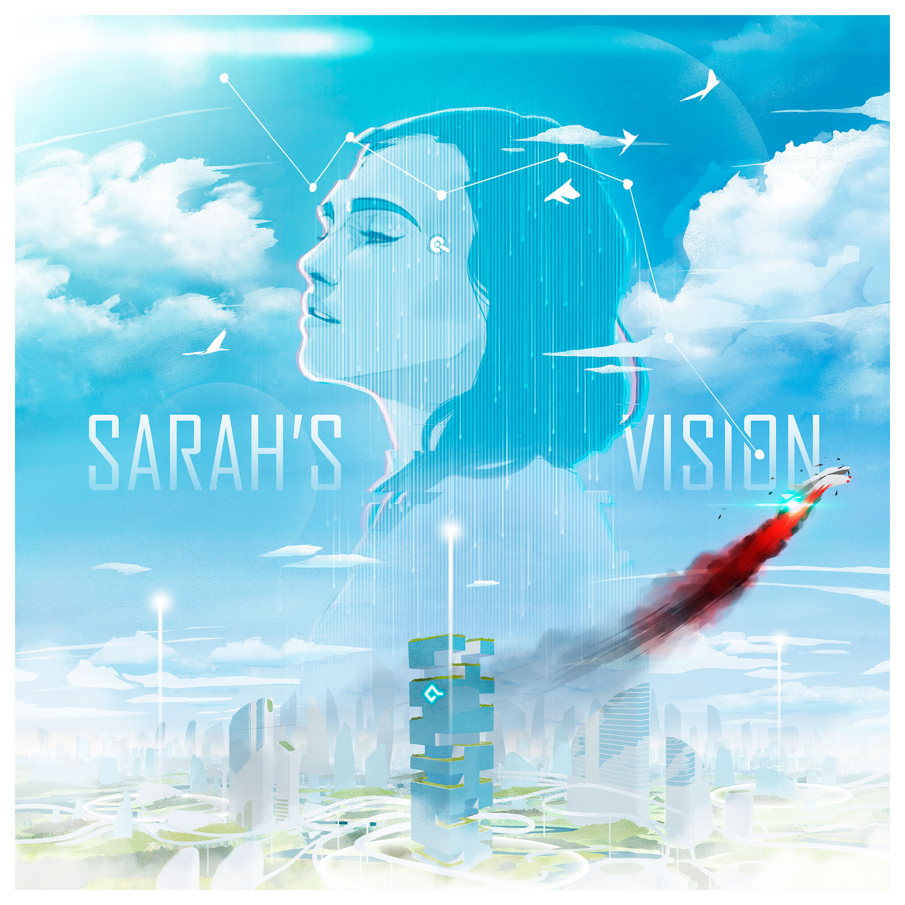 Board Game Cover of Sarah's Vision